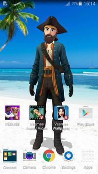 Veemee Avatar Live Wallpaper apk screenshot