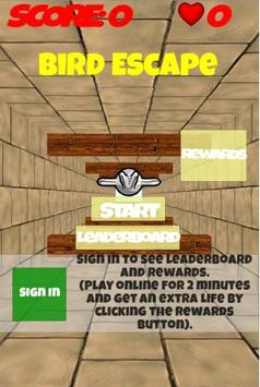 Bird Escape poster