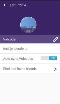 Vidcode screenshot 2