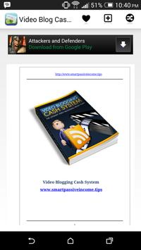 Video Blog Cash Secrets poster