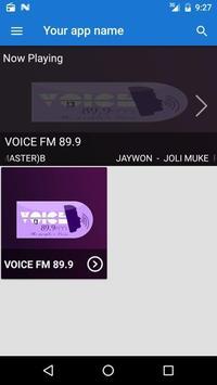 Voice FM 89.9 screenshot 1