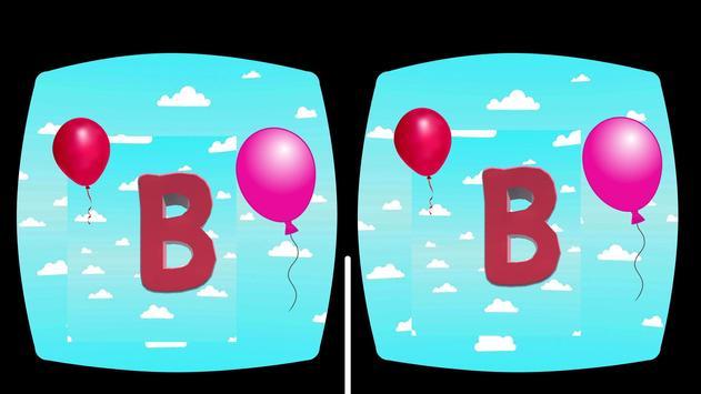 Kids VR 3D Alphabet Song poster