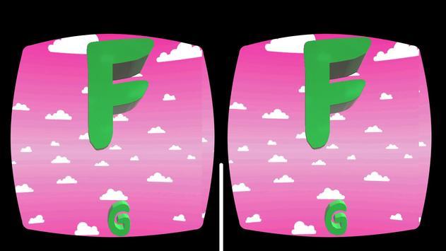 Kids VR 3D Alphabet Song screenshot 1