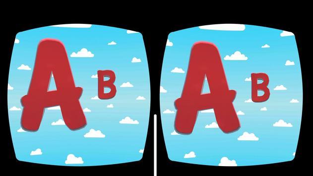 Kids VR 3D Alphabet Song screenshot 8