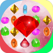 Jewels Star infinity match 3 (space fantasy) icon