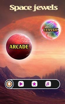 Jewels Star infinity match 3 (space fantasy) apk screenshot