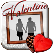 Valentine's Day Photo Frame icon