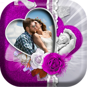 Happy Valentine Day Photo Frame icon