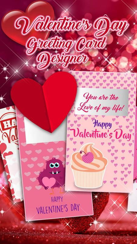 Valentine cards love greetings cards making app for android valentine cards love greetings cards making app poster m4hsunfo