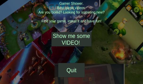 Gamer Shower poster