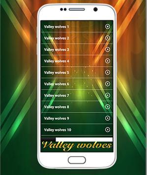 Valley wolves Ringtones apk screenshot