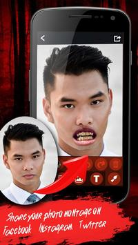 Vampire Fangs Photo Stickers apk screenshot