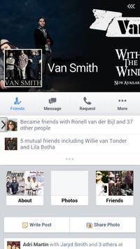 Van Smith Band poster