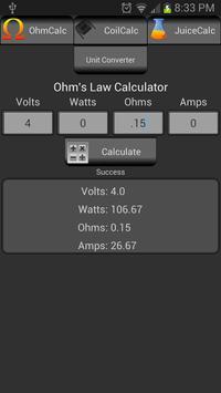VaporCalc screenshot 6