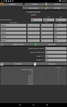 VaporCalc screenshot 7