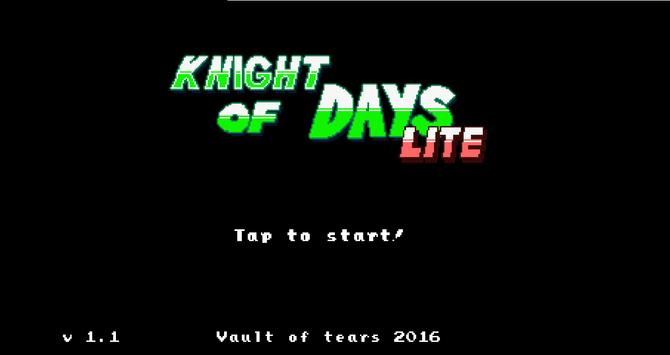 Knight Of Days Exe Lite poster