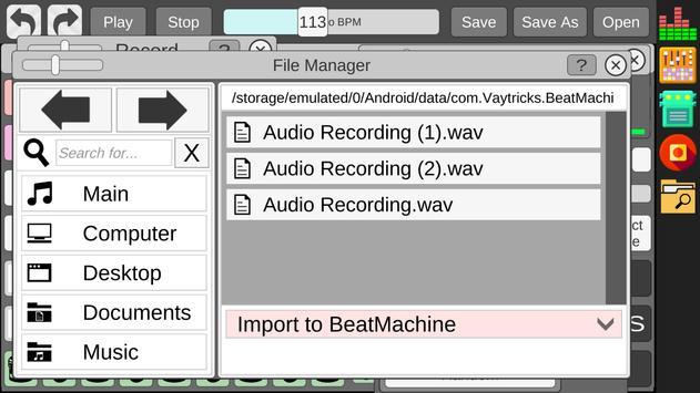 Beat Machine स्क्रीनशॉट 7