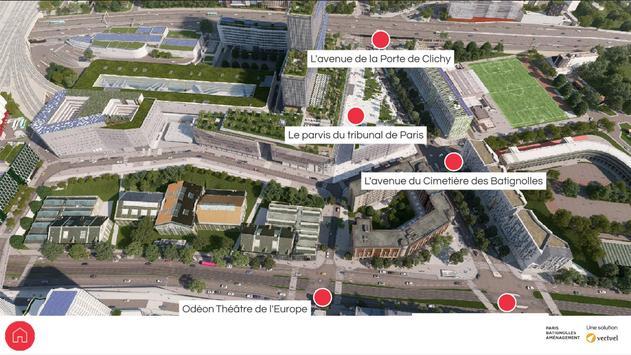 Clichy-Batignolles 3D poster
