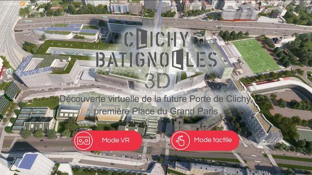 Clichy-Batignolles 3D screenshot 5
