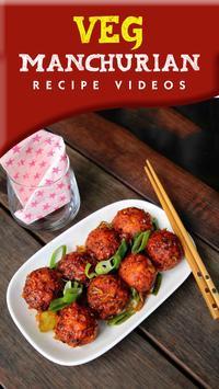 Veg manchurian recipe poster