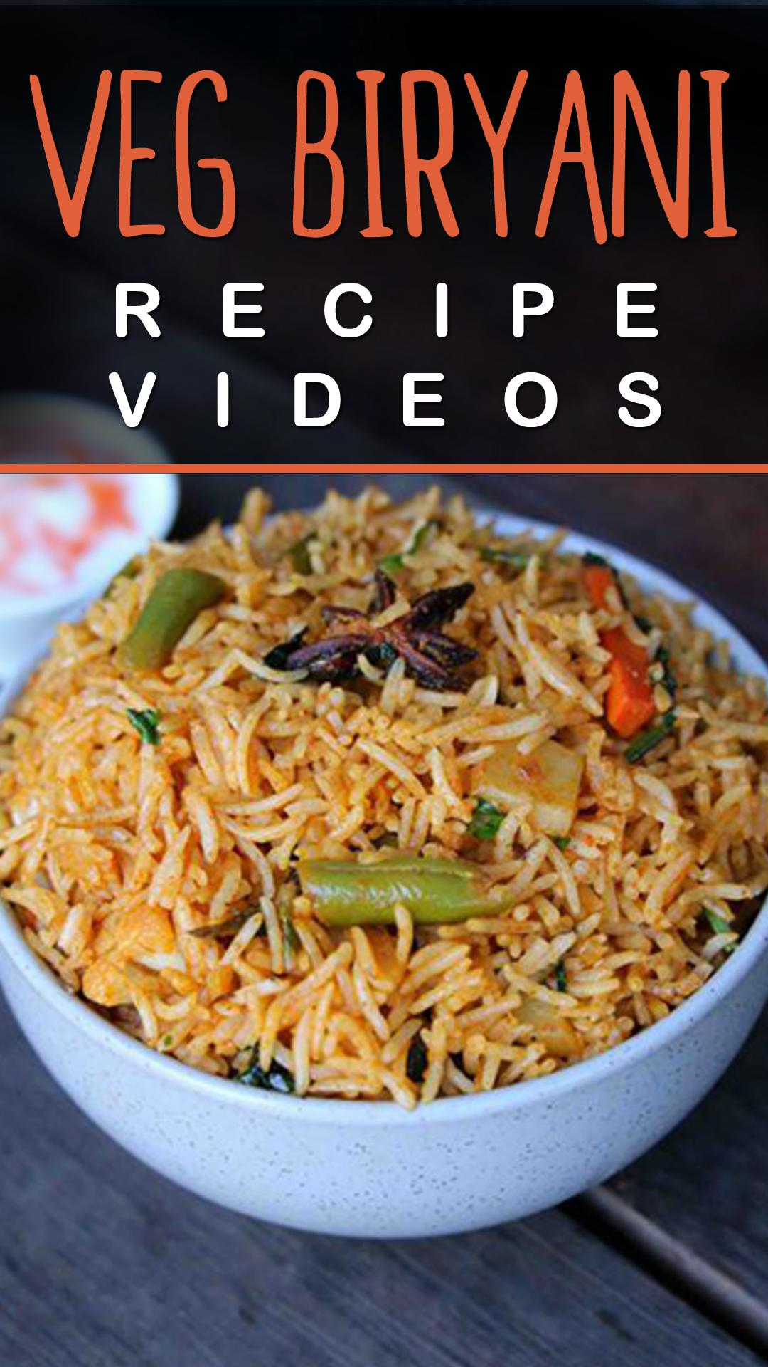 Veg Biryani Recipe For Android Apk Download