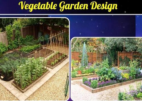 Vegetable Garden Design poster