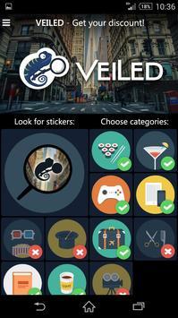 Veiled apk screenshot