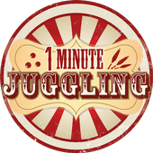One minute juggling icon