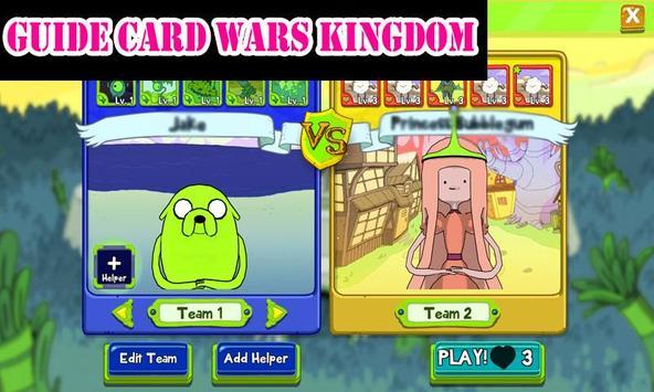 Guide Card Wars Kingdom apk screenshot