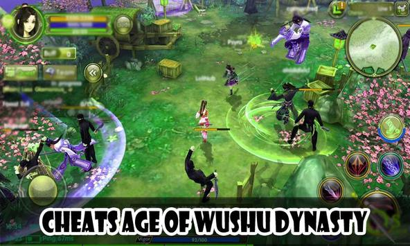 Cheats Age of Wushu Dynasty poster