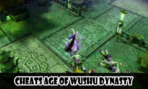 Cheats Age of Wushu Dynasty screenshot 1