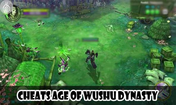 Cheats Age of Wushu Dynasty screenshot 2