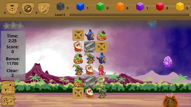 Catch 3: Dino Hunt screenshot 1