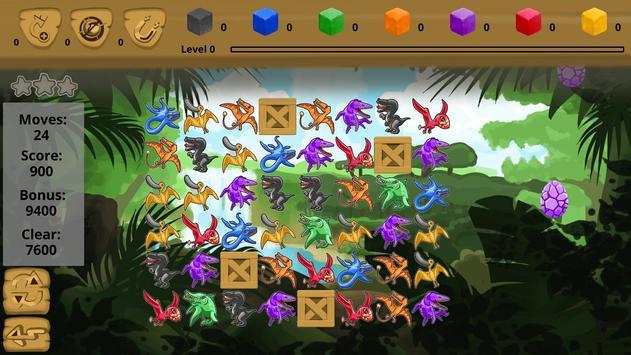 Catch 3: Dino Hunt screenshot 2