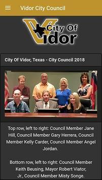 City Of Vidor Texas Official poster