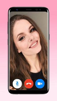 Video Chatting app with Girl chatting apps poster