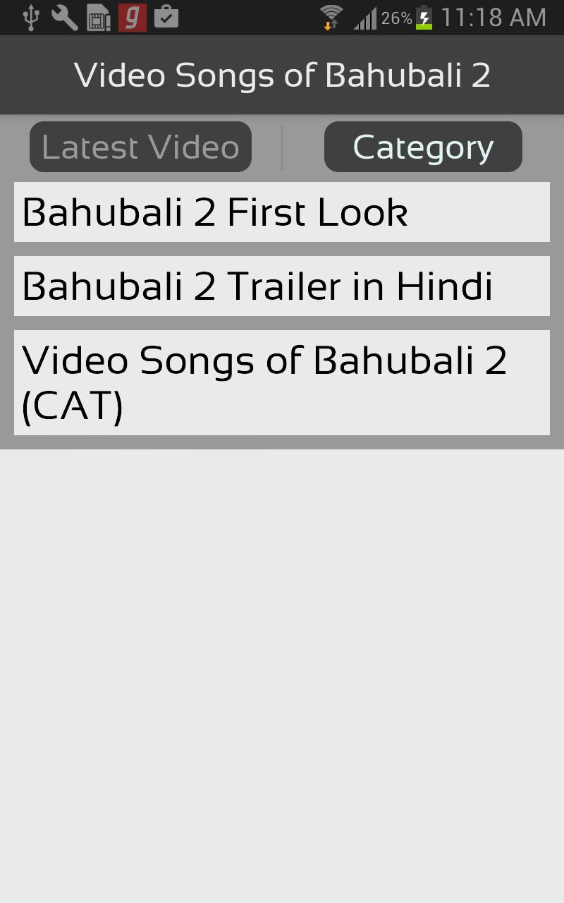 Video Songs of Bahubali 2 for Android - APK Download