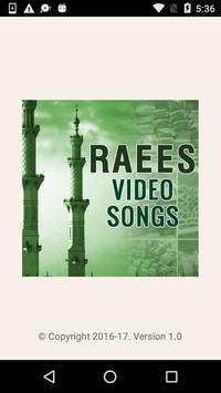 Video Songs of Raees Movie poster