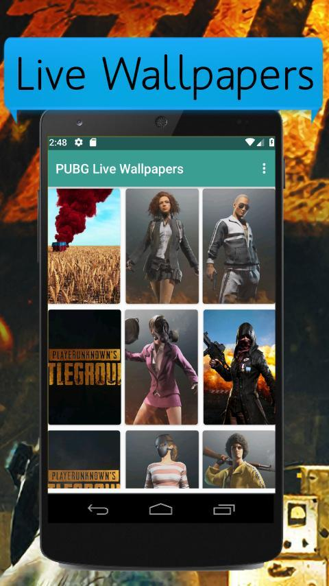 PUBG Live Wallpapers for Android - APK Download
