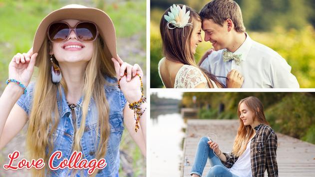 Love Collage Editor apk screenshot