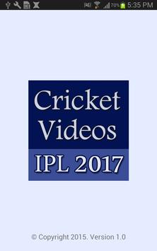 Videos of 2017 Cricket Matches poster