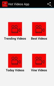 Hot Videos App poster