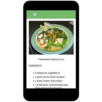 Vietnamese Recipes apk screenshot