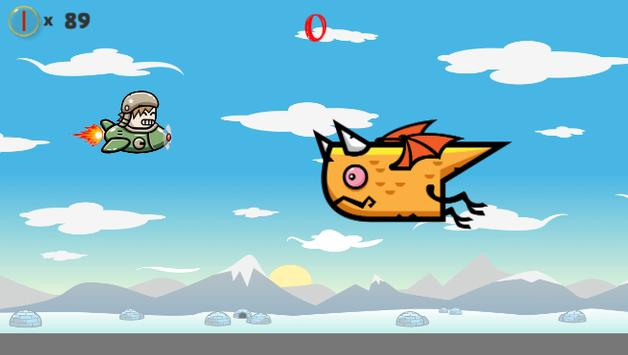Airplane in dragon's island apk screenshot