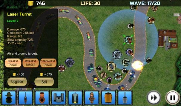 TowerDefense_Tanks screenshot 1