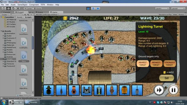 TowerDefense_Tanks screenshot 4