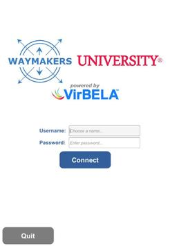 Waymakers University poster