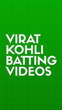 Virat Kohli Batting Videos poster