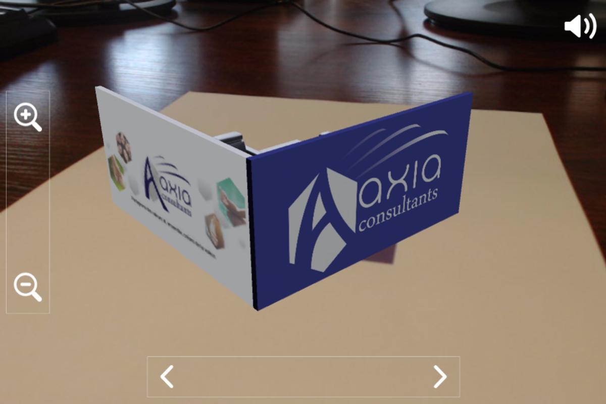 Aaxia Carte De Visite 3D Screenshot 2