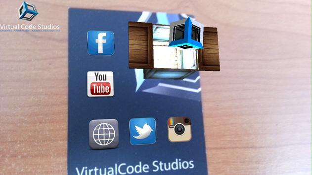 VirtualCode StudiosAR screenshot 1
